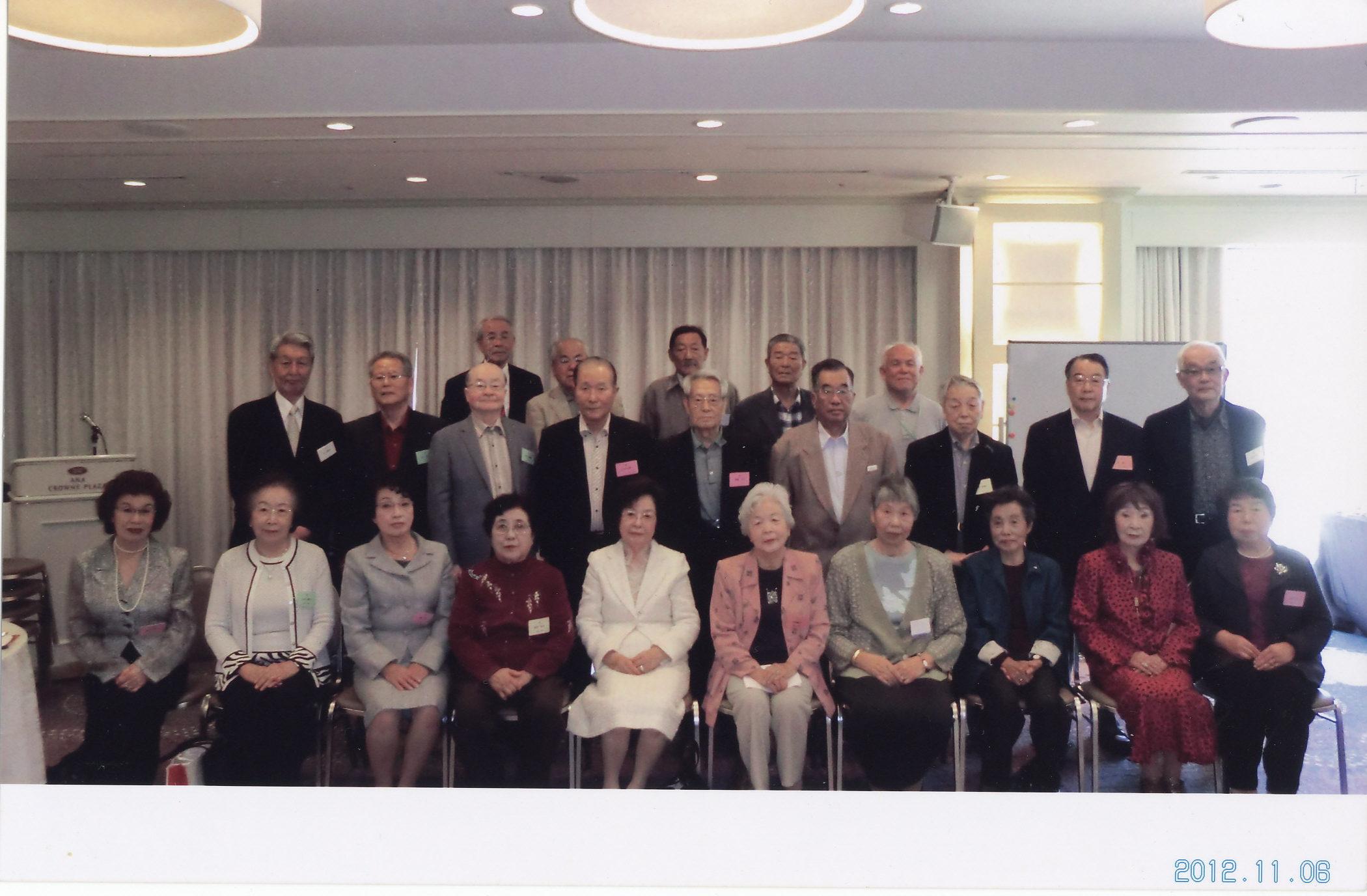 2012年同窓会